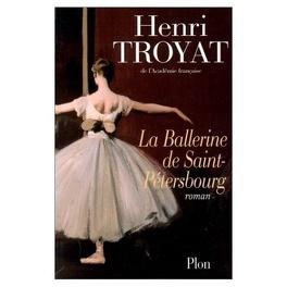 Couverture du livre : La ballerine de Saint-Pétersbourg