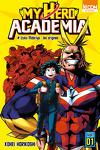 couverture My Hero Academia, Tome 1 : Izuku Midoriya : Les Origines
