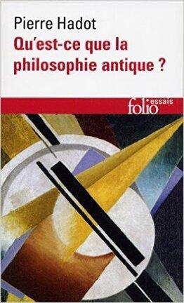 Couverture du livre : Qu'est-ce que la philosophie antique ?