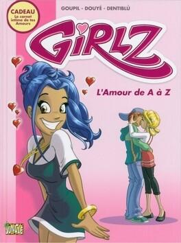 Couverture du livre : Secrets de girlz, tome 1: L'amour de A à Z