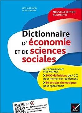Couverture du livre : Dictionnaire d'économie et de sciences sociales