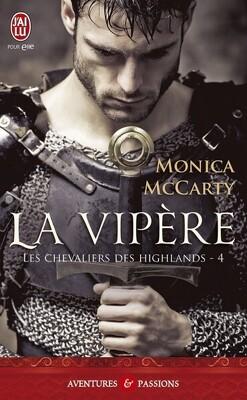 Couverture de Les Chevaliers des Highlands, Tome 4 : La Vipère
