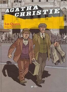 Couverture du livre : Agatha Christie, tome 13 : Les Quatre