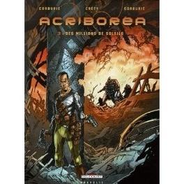 Couverture du livre : Acriborea, tome 3 : Des millions de soleils