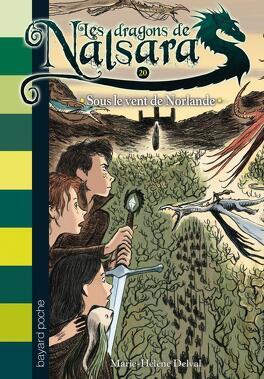 Couverture du livre : Les dragons de Nalsara, Tome 20 : Sous le vent de Norlande