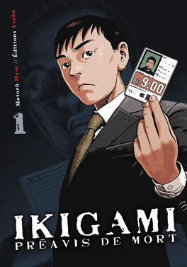 Couverture du livre : Ikigami, Tome 1