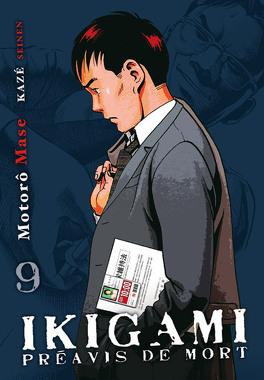 Couverture du livre : Ikigami, tome 9