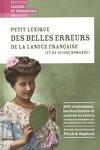 couverture Petit lexique des belles erreurs de la langue française
