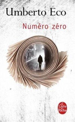 Couverture du livre : Numéro zéro