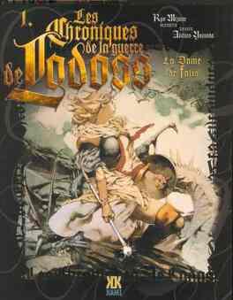 Couverture du livre : Chroniques de la guerre de Lodoss, tome 1 : La dame de Falis