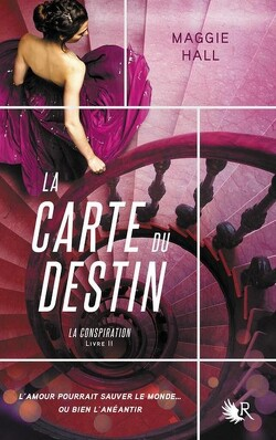 Couverture de La Conspiration, Tome 2 : La Carte du Destin