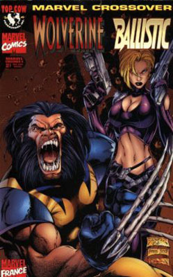 Couverture du livre : Marvel Crossover, Tome 4: Wolverine/Ballistic