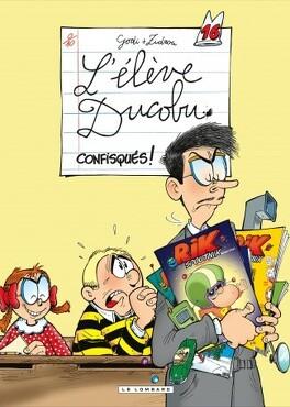 Couverture du livre : L'Élève Ducobu, Tome 16 : Confisqués !