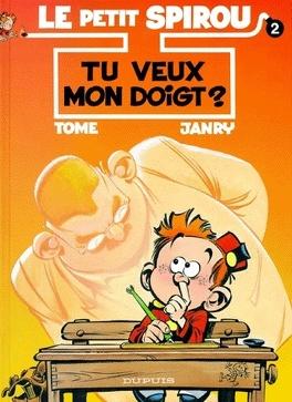 Couverture du livre : Le Petit Spirou, Tome 2 : Tu veux mon doigt ?