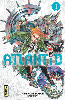 Couverture du livre : Atlantid, Tome 1