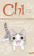 Chi, une vie de chat, Tome 13 : Une journée entre copains (Roman)