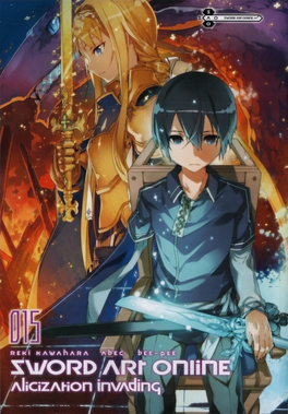 Couverture du livre : Sword Art Online, Tome 15 : Alicization Invading