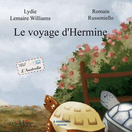 Couverture du livre : le voyage d'hermine