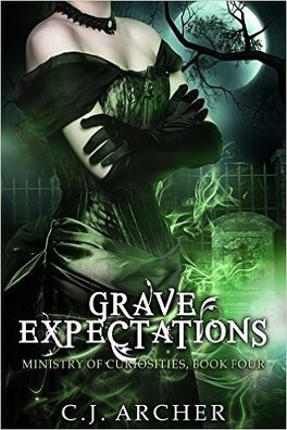 Couverture du livre : The Ministry of Curiosities, Tome 4 : Grave Expectations
