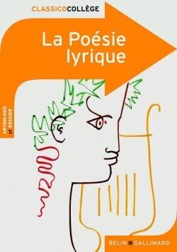 Couverture du livre : La poésie lyrique
