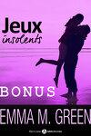 couverture Jeux insolents, tome 1.5 : Bonus