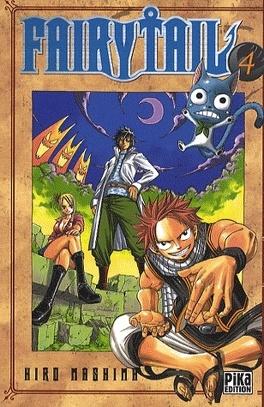 Couverture du livre : Fairy Tail, Tome 4