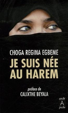 Couverture du livre : Je suis née au harem