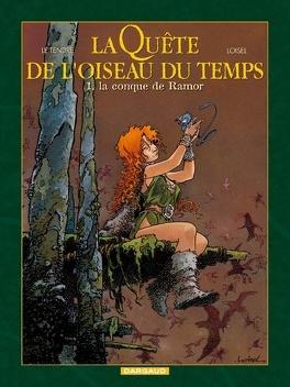 Couverture du livre : La Quête de l'oiseau du temps, Tome 1 : La conque de Ramor