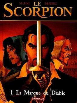 Couverture du livre : Le Scorpion, Tome 1 : La marque du diable