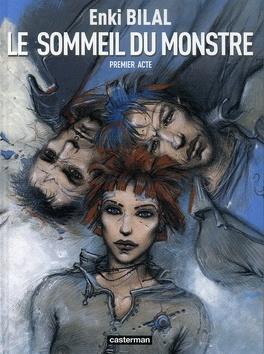 Couverture du livre : Le sommeil du monstre