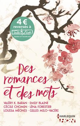 Couverture du livre : Des romances et des mots