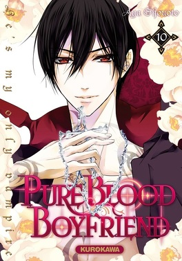 Couverture du livre : Pure blood boyfriend : He's my only vampire, Tome 10
