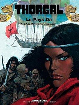 Couverture du livre : Thorgal, tome 10 : Le Pays Qâ