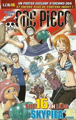 Couverture de One Piece: The Sixteenth Log