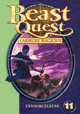 Couverture du livre : Beast Quest, Tome 11 : L'ensorceleuse
