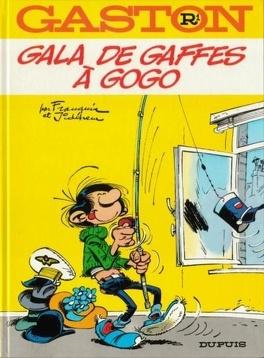 Couverture du livre : Gaston, Tome R1 : Gala de gaffes à gogo