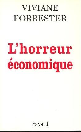 Couverture du livre : L'horreur économique
