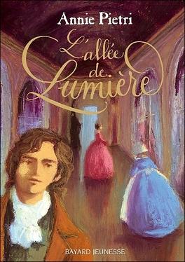 Couverture du livre : Les Miroirs du palais, Tome 2 : L'allée de lumière