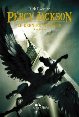 Couverture du livre : Percy Jackson, Tome 5 : Le Dernier Olympien
