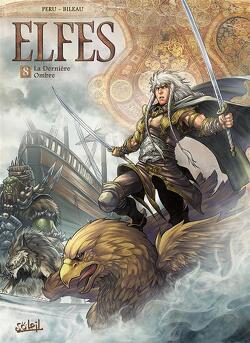 Couverture de Elfes, Tome 8 : La Dernière Ombre
