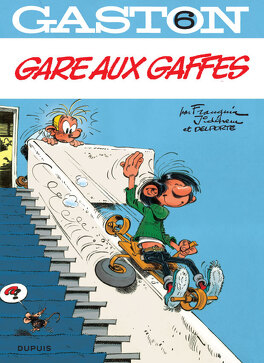 Couverture du livre : Gaston, Tome 6 : Gare aux gaffes
