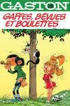 couverture Gaston, Tome 14 : Gaffes, bévues et boulettes