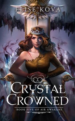 Couverture du livre : Air Awakens, Tome 5 : Crystal Crowned