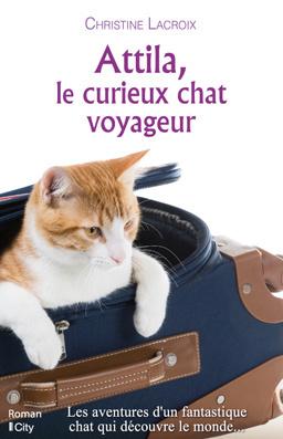 Attila Le Curieux Chat Voyageur Livre De Christine Lacroix