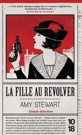 Couverture du livre : La Fille au revolver