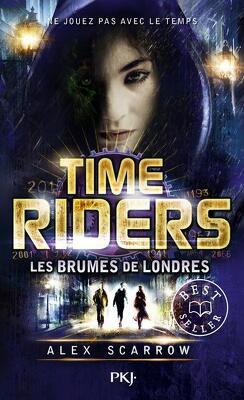 Couverture de Time Riders, Tome 6 : Les Brumes de Londres