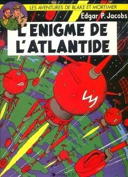 Couverture du livre : Blake et Mortimer, Tome 7 : L'Énigme de l'Atlantide