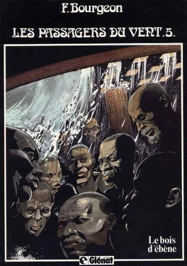Couverture du livre : Les Passagers du vent, Tome 5 : Le Bois d'ébène