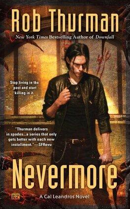 Couverture du livre : Cal Leandros, tome 10 : Nevermore