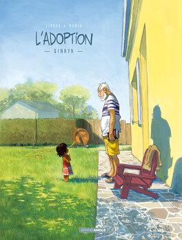 Couverture du livre : L'Adoption, Tome 1 : Qinaya